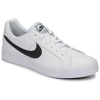 Buty Męskie Trampki niskie Nike COURT ROYALE AC Biały / Czarny