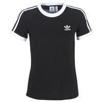 tekstylia Damskie T-shirty z krótkim rękawem adidas Originals 3 STR TEE Czarny