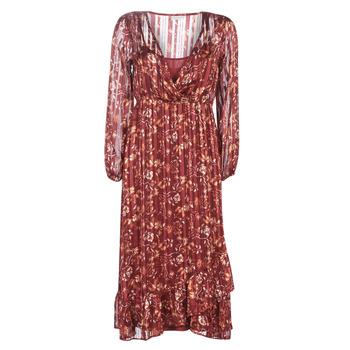 tekstylia Damskie Sukienki długie Cream NILA Czerwony