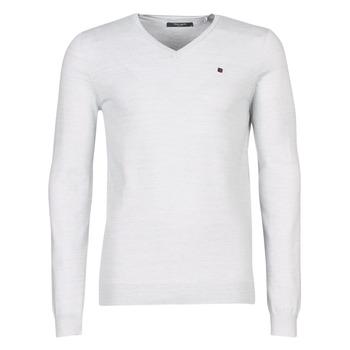 tekstylia Męskie Swetry Teddy Smith PIKO Biały