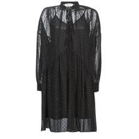 tekstylia Damskie Sukienki krótkie Replay W9525-000-83494-098 Czarny