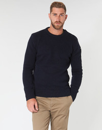 tekstylia Męskie Swetry Schott PLOUTRIDER1 Marine