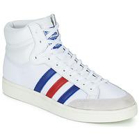 Buty Trampki wysokie adidas Originals AMERICANA HI Biały / Niebieski / Czerwony