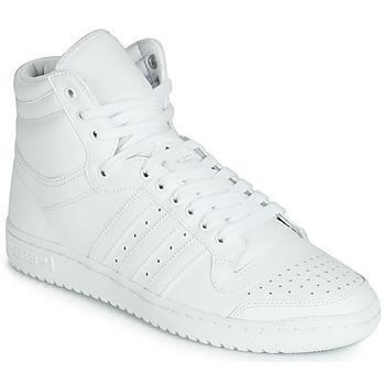 Buty Męskie Trampki wysokie adidas Originals TOP TEN HI Biały