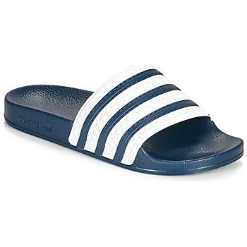 Buty klapki adidas Originals ADILETTE Niebieski / Biały