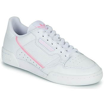Buty Damskie Trampki niskie adidas Originals CONTINENTAL 80 W Biały / Różowy