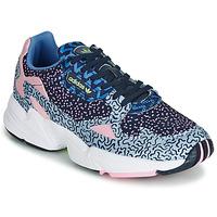 Buty Damskie Trampki niskie adidas Originals FALCON W Niebieski / Różowy