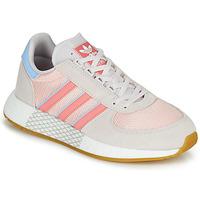Buty Damskie Trampki niskie adidas Originals MARATHON TECH W Szary / Różowy