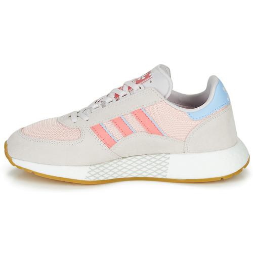Adidas Originals Marathon Tech W Szary / Różowy - Bezpłatna Dostawa- Buty Trampki Niskie Damskie 39830 Najniższa Cena