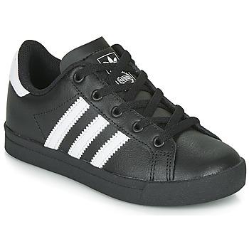 Buty Dziecko Trampki niskie adidas Originals COAST STAR C Czarny / Biały