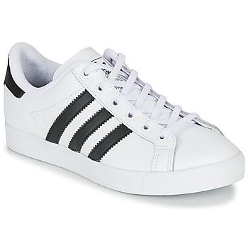 Buty Dziecko Trampki niskie adidas Originals COAST STAR J Biały / Czarny