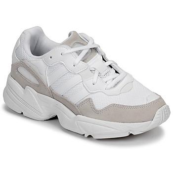 Buty Dziecko Trampki niskie adidas Originals YUNG-96 J Beżowy