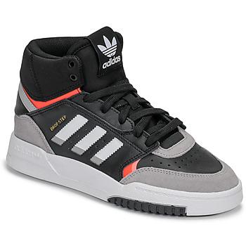 Buty Chłopiec Trampki wysokie adidas Originals DROP STEP J Czarny / Szary