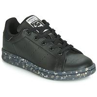 Buty Dziecko Trampki niskie adidas Originals STAN SMITH C Czarny