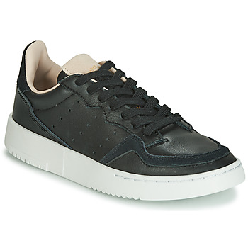 Buty Dziecko Trampki niskie adidas Originals SUPERCOURT J Czarny