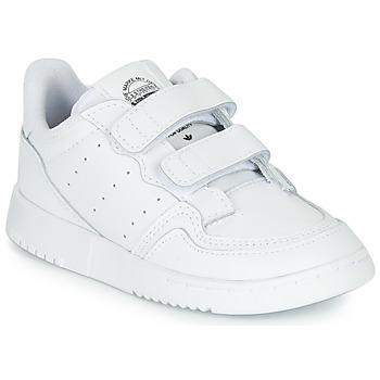 Buty Dziecko Trampki niskie adidas Originals SUPERCOURT CF I Biały