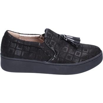 Buty Damskie Tenisówki Uma Parker Sneakersy BR54 Czarny