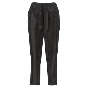 tekstylia Damskie Spodnie z pięcioma kieszeniami Betty London LAALIA Czarny / Biały