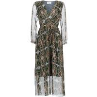 tekstylia Damskie Sukienki długie Betty London LILIE-ROSE Zielony / Wielokolorowe