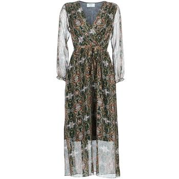 tekstylia Damskie Sukienki długie Betty London LILIE-ROSE Zielony / Wielokolorowy