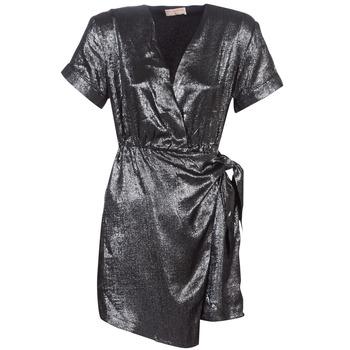 tekstylia Damskie Sukienki krótkie Moony Mood LIVINE Srebrny