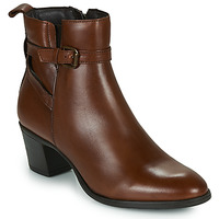 Buty Damskie Botki Betty London LAVANDA Cognac