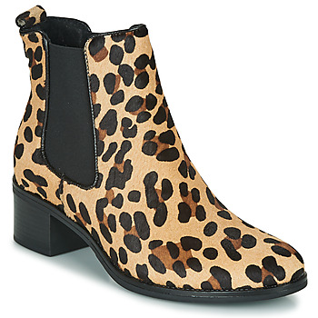 Buty Damskie Botki Betty London HASNI Leopard
