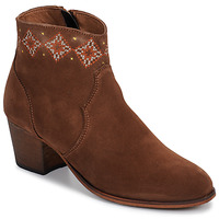 Buty Damskie Botki Betty London LAURE-ELISE Camel