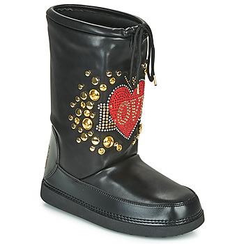 Buty Damskie Śniegowce Love Moschino SKI BOOT Czarny