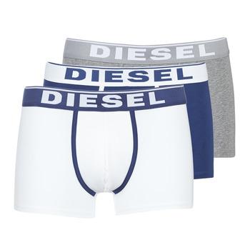 Bielizna  Męskie Bokserki Diesel DAMIEN Biały / Marine / Szary