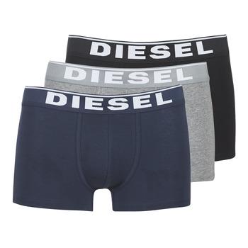 Bielizna  Męskie Bokserki Diesel DAMIEN Szary / Marine / Czarny