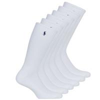 Dodatki Męskie Skarpety Polo Ralph Lauren ASX110 6PK CR PP-CREW-6 PACK Biały