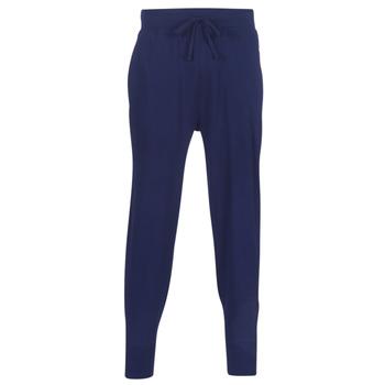tekstylia Męskie Spodnie dresowe Polo Ralph Lauren JOGGER-PANT-SLEEP BOTTOM Marine