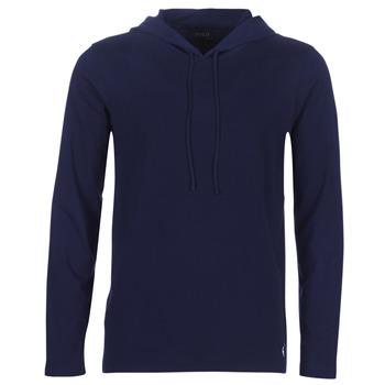 tekstylia Męskie Bluzy Ralph Lauren L/S HOODIE-HOODIE-SLEEP TOP Marine