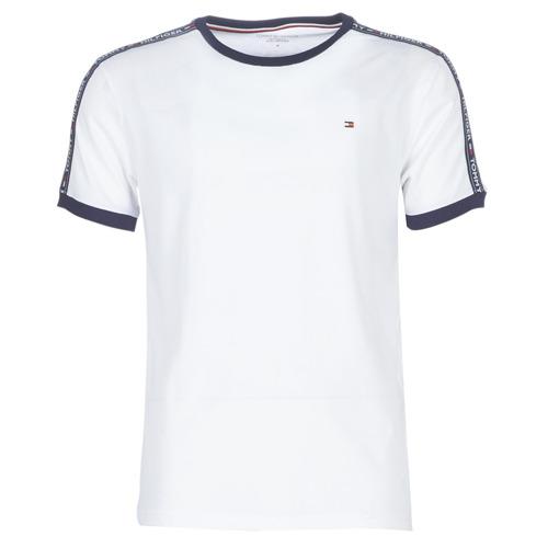 tekstylia Męskie T-shirty z krótkim rękawem Tommy Hilfiger AUTHENTIC-UM0UM00563 Biały