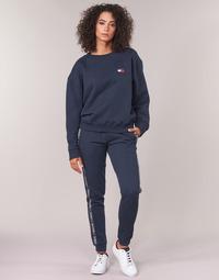 tekstylia Damskie Spodnie dresowe Tommy Hilfiger AUTHENTIC-UW0UW00564 Marine