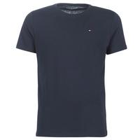tekstylia Męskie T-shirty z krótkim rękawem Tommy Hilfiger COTTON ICON SLEEPWEAR-2S87904671 Marine