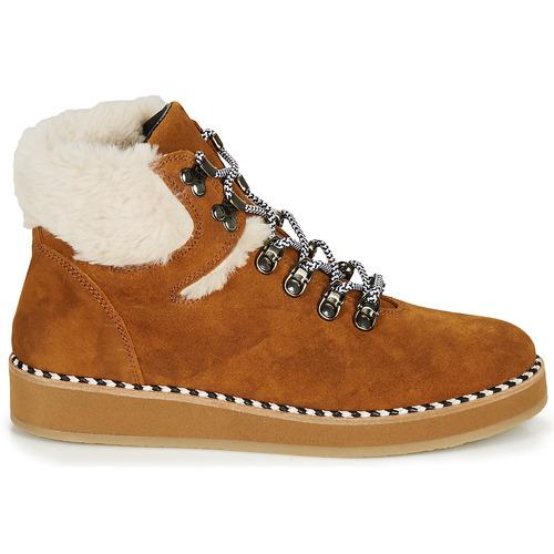 RIDE LAND  Ippon Vintage  buty za kostkę  damskie  camel