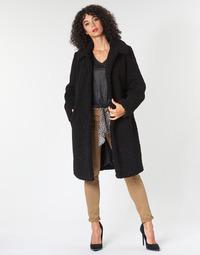 tekstylia Damskie Płaszcze Le Temps des Cerises DOLL Czarny