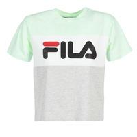 tekstylia Damskie T-shirty z krótkim rękawem Fila ALLISON TEE Niebieski / Szary