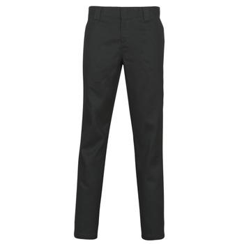 tekstylia Męskie Spodnie z pięcioma kieszeniami Dickies SLIM FIT WORK PNT Czarny