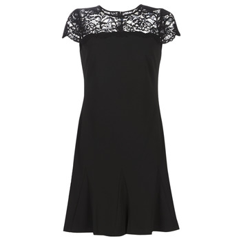 tekstylia Damskie Sukienki krótkie Lauren Ralph Lauren CALLY Czarny