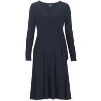 tekstylia Damskie Sukienki długie Lauren Ralph Lauren COREEN Marine