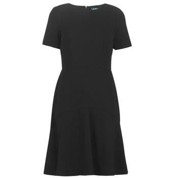 tekstylia Damskie Sukienki krótkie Lauren Ralph Lauren BABA Czarny