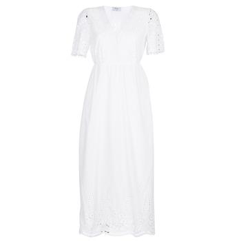 tekstylia Damskie Sukienki długie Betty London KATARELLE Biały