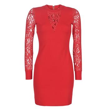 tekstylia Damskie Sukienki krótkie Moony Mood LICE Czerwony
