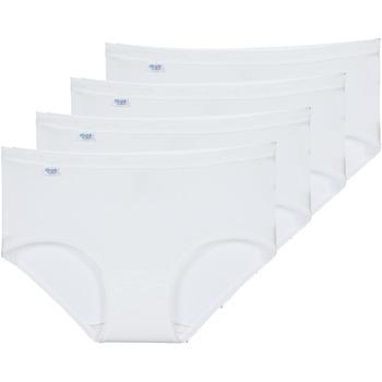 Bielizna  Damskie Figi  Sloggi BASIC+ X 4 Biały