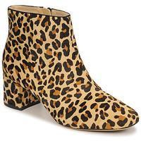 Buty Damskie Botki Clarks SHEER FLORA Leopard