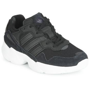 Buty Dziecko Trampki niskie adidas Originals YUNG-96 C Czarny