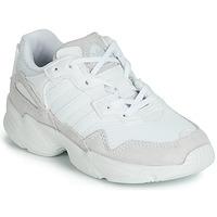 Buty Dziecko Trampki niskie adidas Originals YUNG-96 C Biały